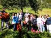 Četrtošolci so pobirali jabolka